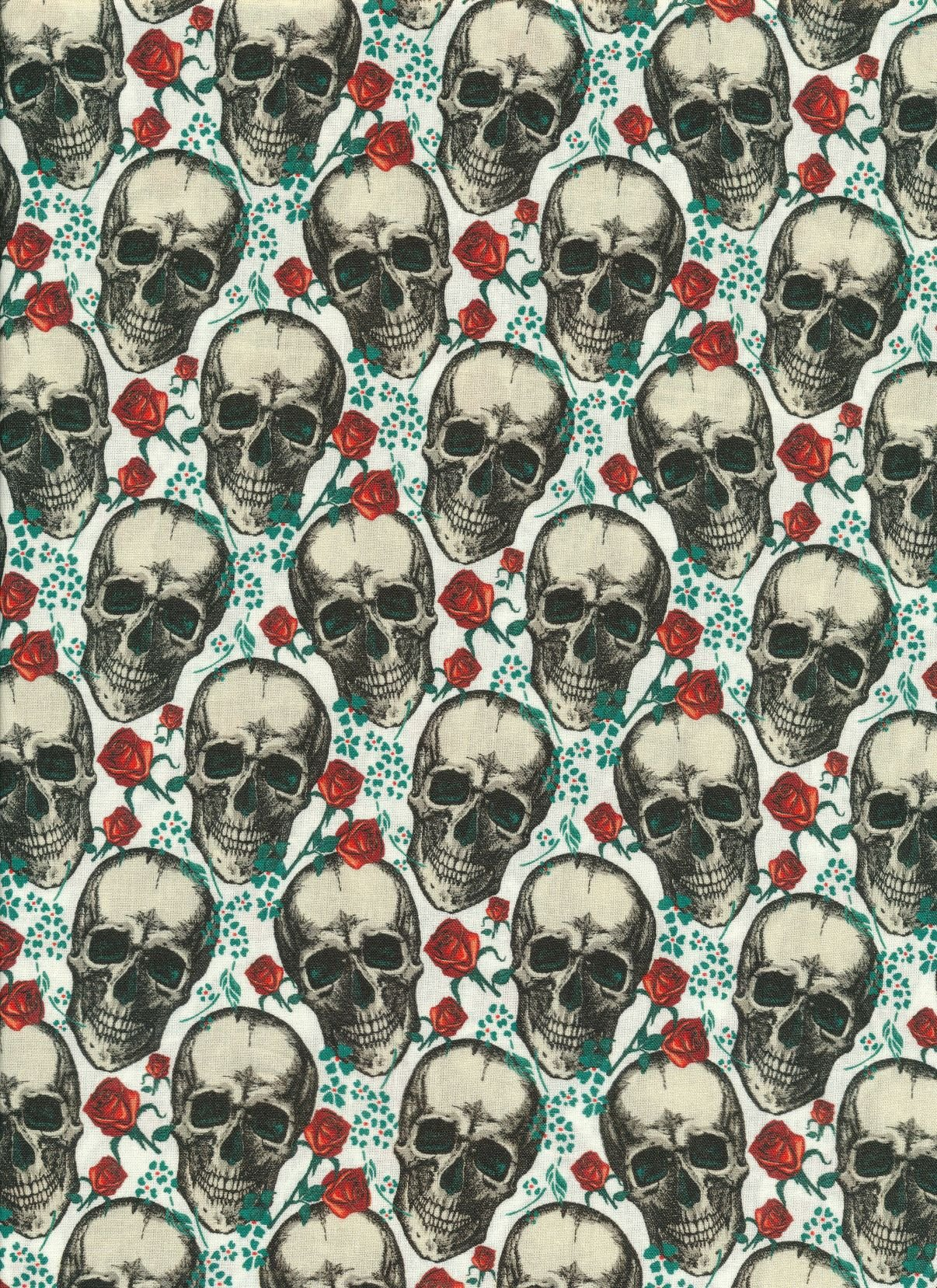 Scull Rose (1)
